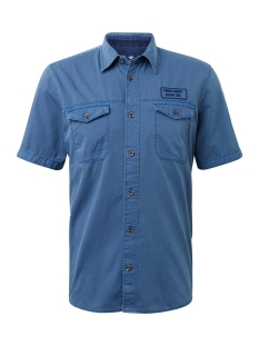 overhemd met korte mouwen 1010116xx10 tom tailor overhemd 16340
