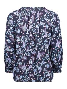 blouese emt motief en ruches 1010677xx70 tom tailor blouse 18222