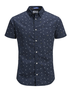 Jack & Jones Overhemd JORLUIS SHIRT SS ORG 12152597 Total Eclipse
