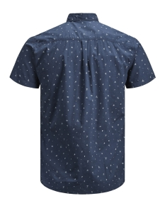 pktdek beach aop shirt ss 12152893 produkt overhemd dark denim