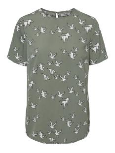 pcbirdy ss top d2d 17097900 pieces t-shirt laurel wreath/two birds