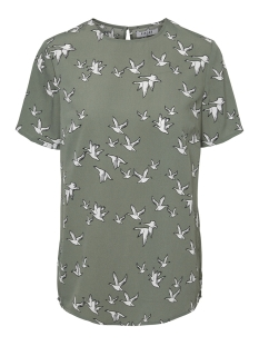 Pieces T-shirt PCBIRDY SS TOP D2D 17097900 Laurel Wreath/TWO BIRDS