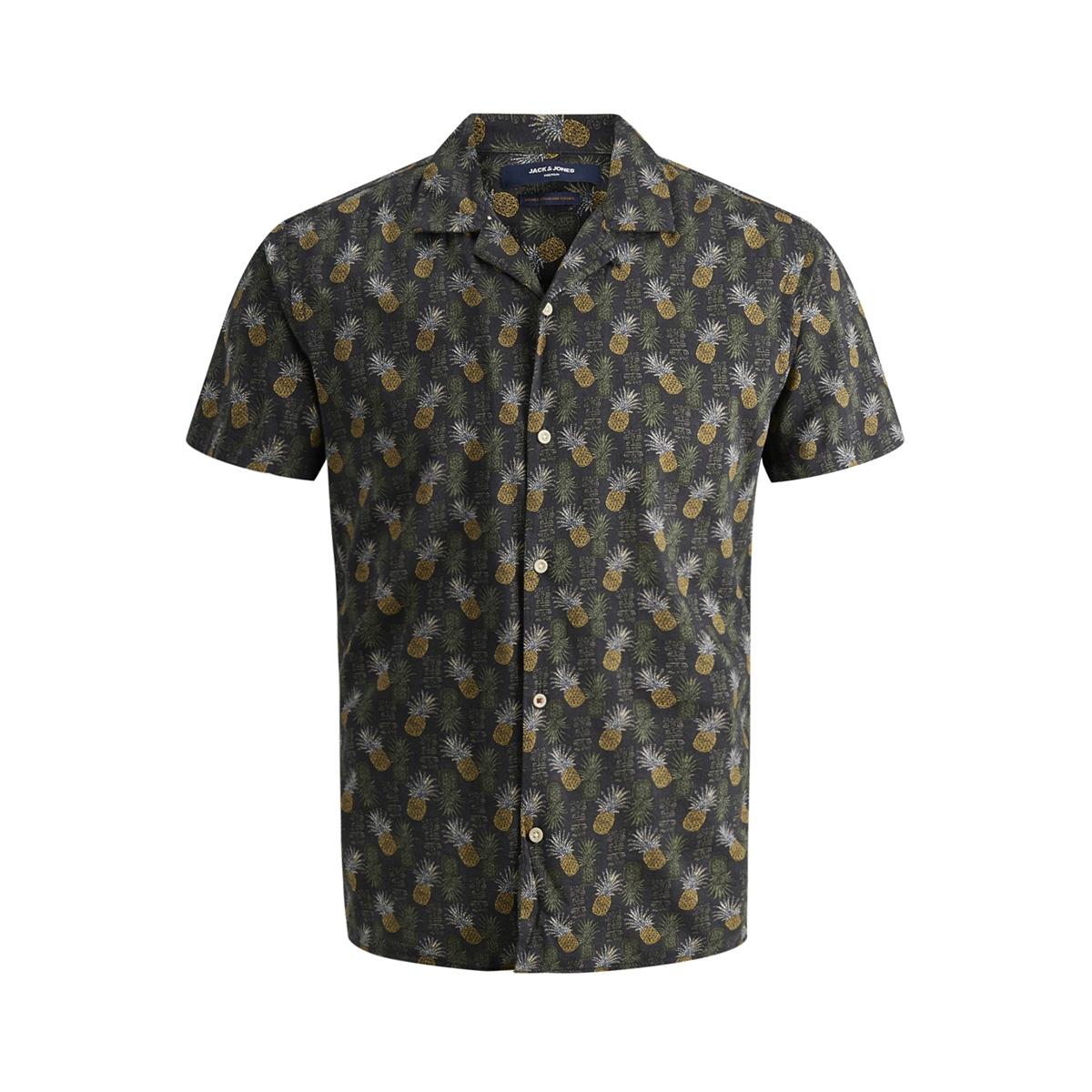 jprjayden resort shirt s/s 12151926 jack & jones overhemd caviar