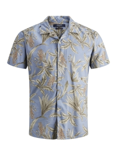 Jack & Jones Overhemd JPRJAYDEN RESORT SHIRT S/S 12151926 Faded Denim