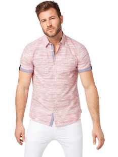 overhemd met patroon 1010868xx10 tom tailor overhemd 17647