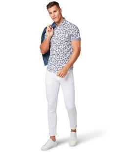 overhemd met patroon 1010870xx10 tom tailor overhemd 17656
