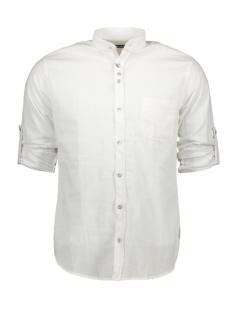 Ferlucci Overhemd FERLUCCI LUCCA LINNEN HEMD WIT