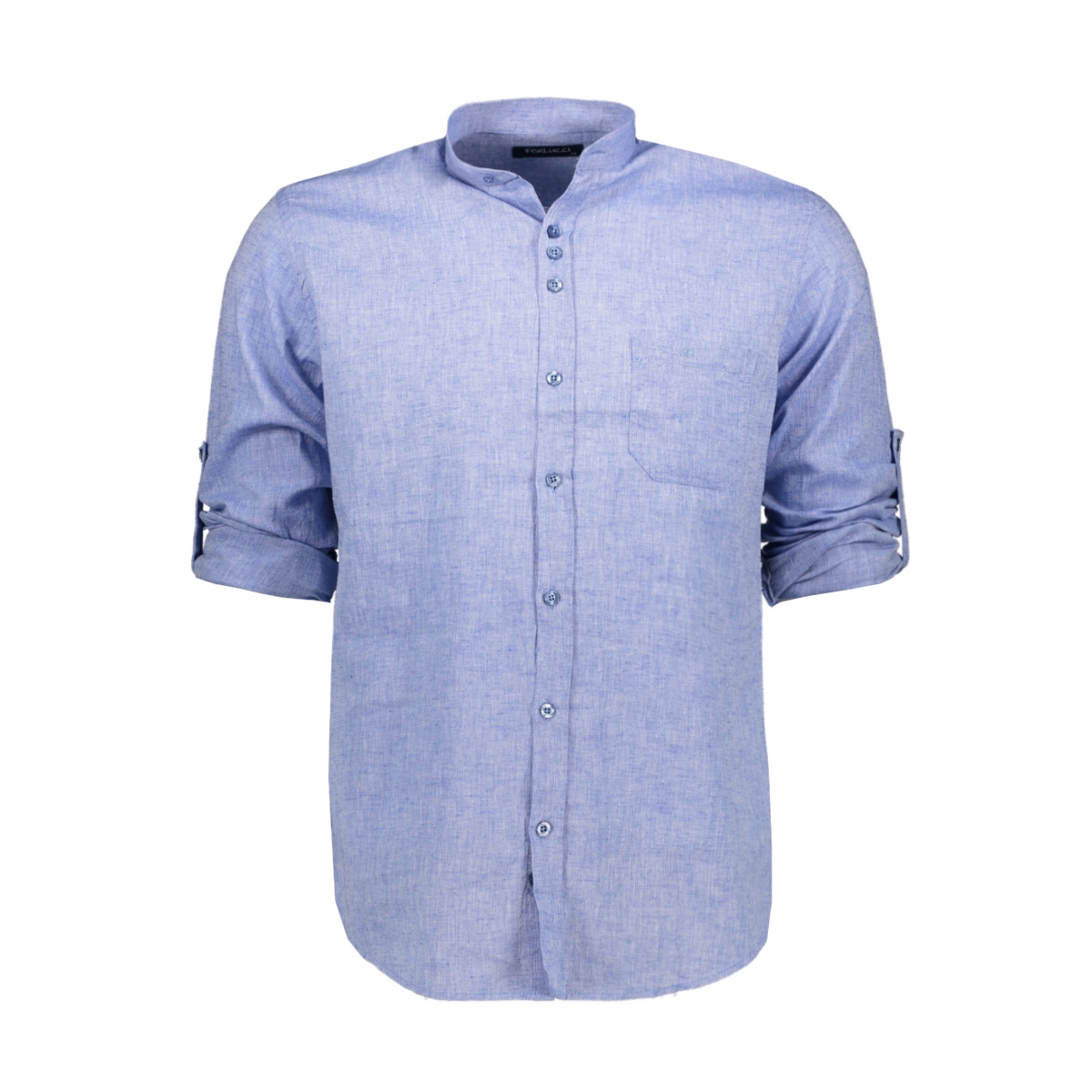 ferlucci lucca linnen hemd ferlucci overhemd sky