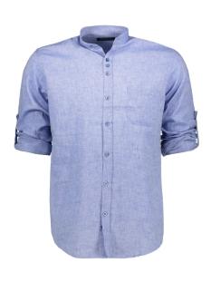 Ferlucci Overhemd FERLUCCI LUCCA LINNEN HEMD SKY