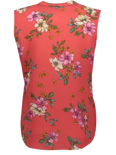 jdytrick treats s/l shirt wvn 15174354 jacqueline de yong top cayenne/pink flower
