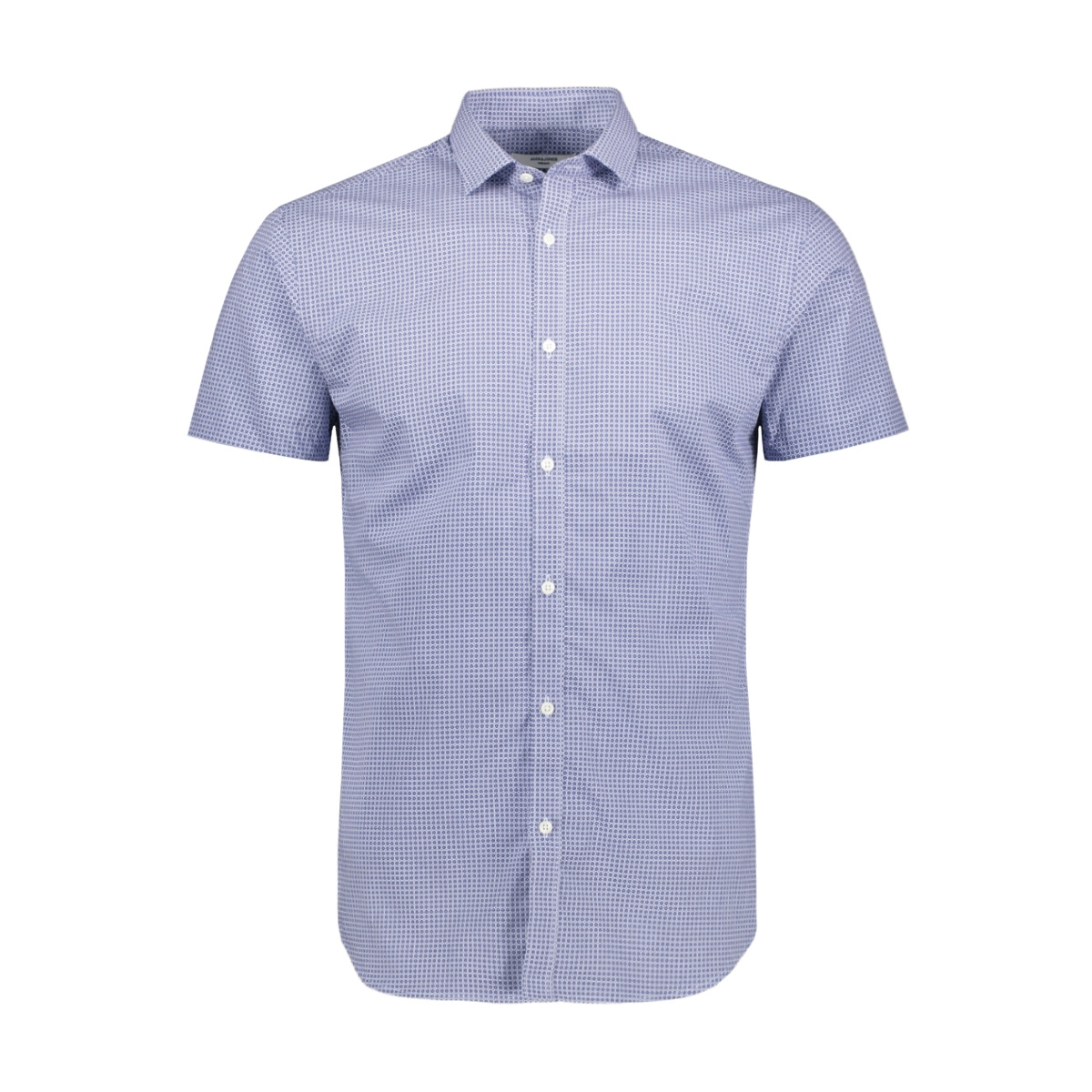 jprblackburn shirt s/s s19 12154075 jack & jones overhemd estate blue/slim fit