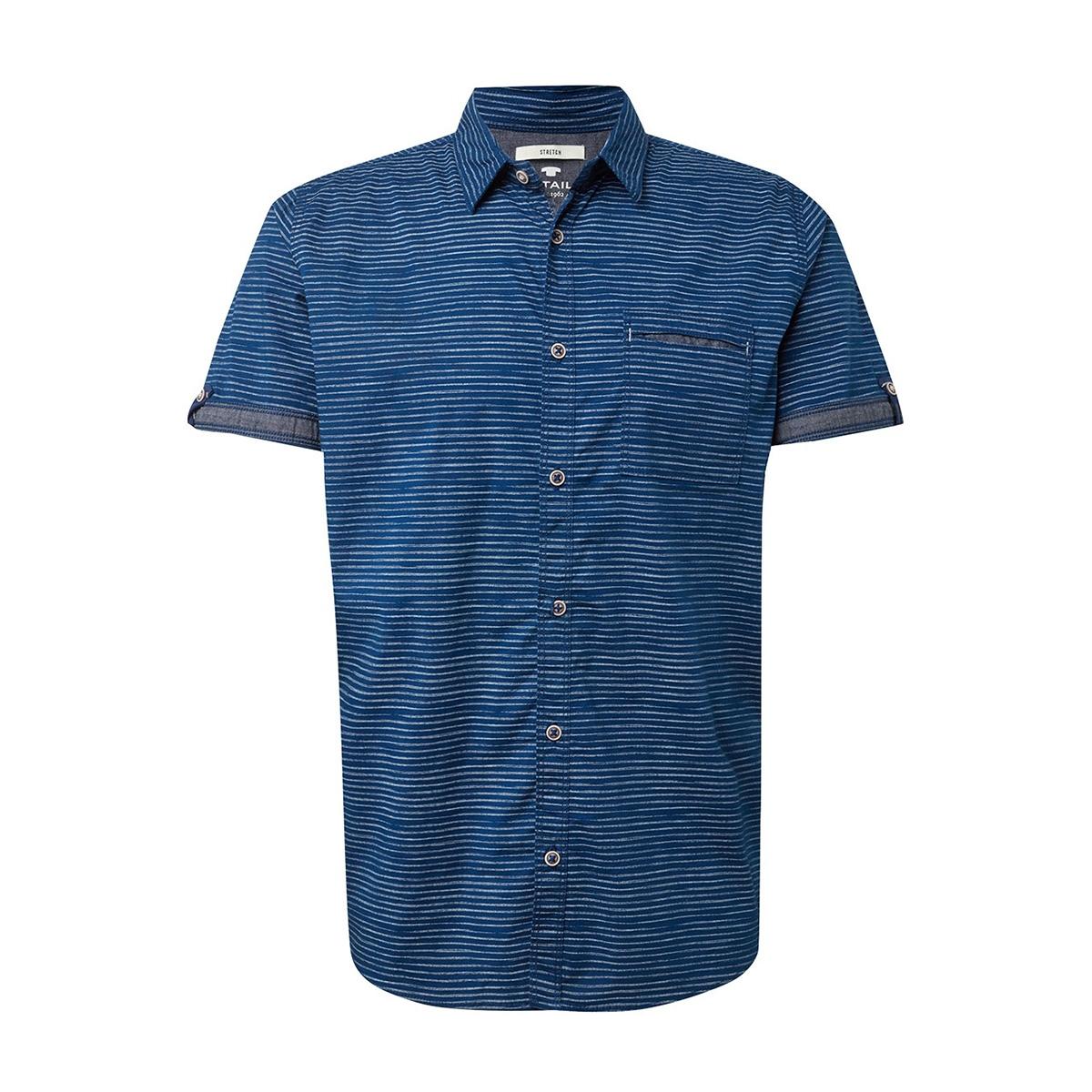 gestreept overhemd 1010110xx10 tom tailor overhemd 17185