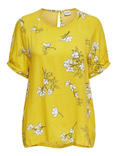 Jacqueline de Yong Blouse JDYKENYA 2/4 TOP WVN 15174485 Lemon/CLOUD DANCER