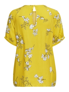 jdykenya 2/4 top wvn 15174485 jacqueline de yong blouse lemon/cloud dancer