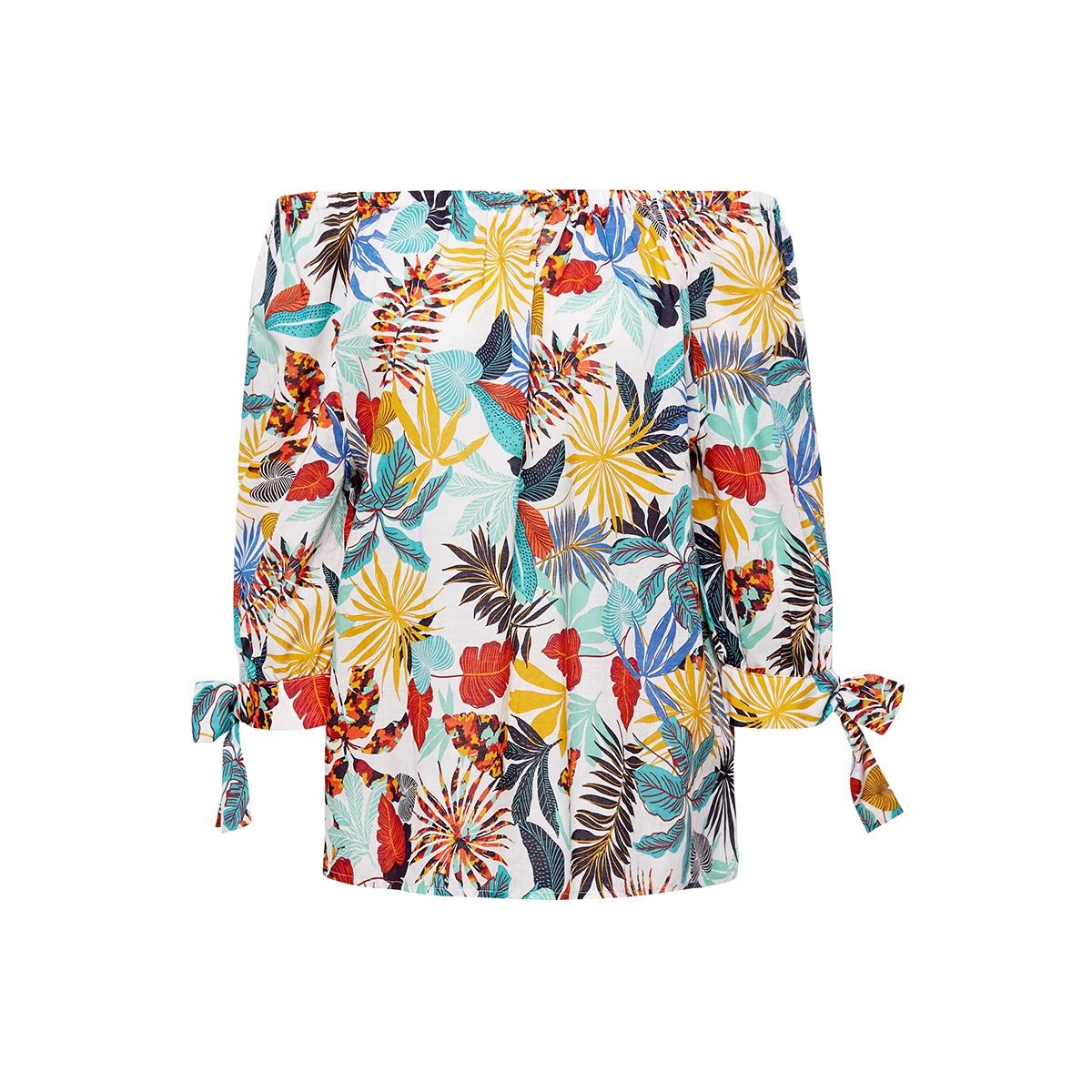 off the shoulder blouse met print 059ee1f028 esprit blouse e110