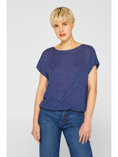 blousetop met print en elastische zoom 049ee1f003 esprit blouse e400