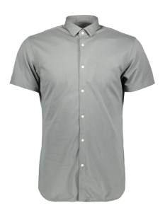 jprrome shirt s/s 12152758 jack & jones overhemd sedona sage/slim fit