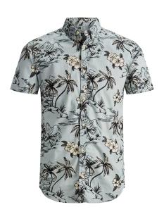 Produkt Overhemd PKTDEK AWESOME AOP SHIRT SS 12152882 Slate