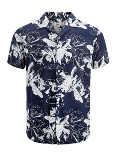 Produkt Overhemd PKTDEK GLOW AOP RESORT SHIRT SS 12152802 Dark Navy