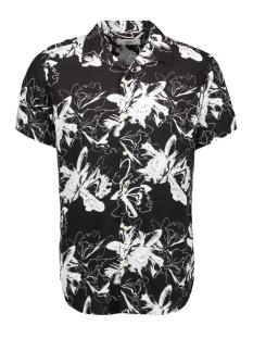 Produkt Overhemd PKTDEK GLOW AOP RESORT SHIRT SS 12152802 Black