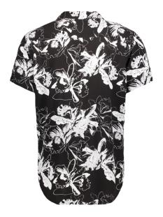 pktdek glow aop resort shirt ss 12152802 produkt overhemd black