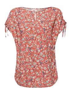 Esprit T-shirt TOP MET PRINT EN GERIMPELDE SCHOUDERS 059EE1F015 E665