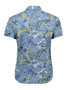 jorjax shirt ss org 12154514 jack & jones overhemd silver birch/slim