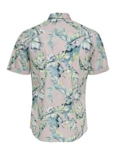 onslamar ss aop poplin shirt re 22013269 only & sons overhemd violet ice