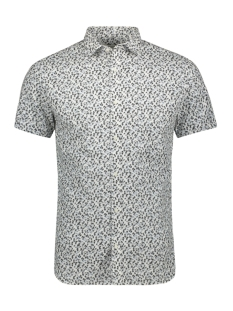 Jack & Jones Overhemd JPRSUMMER BLACKBURN SHIRT S/S 12152774 White/ SLIM FIT