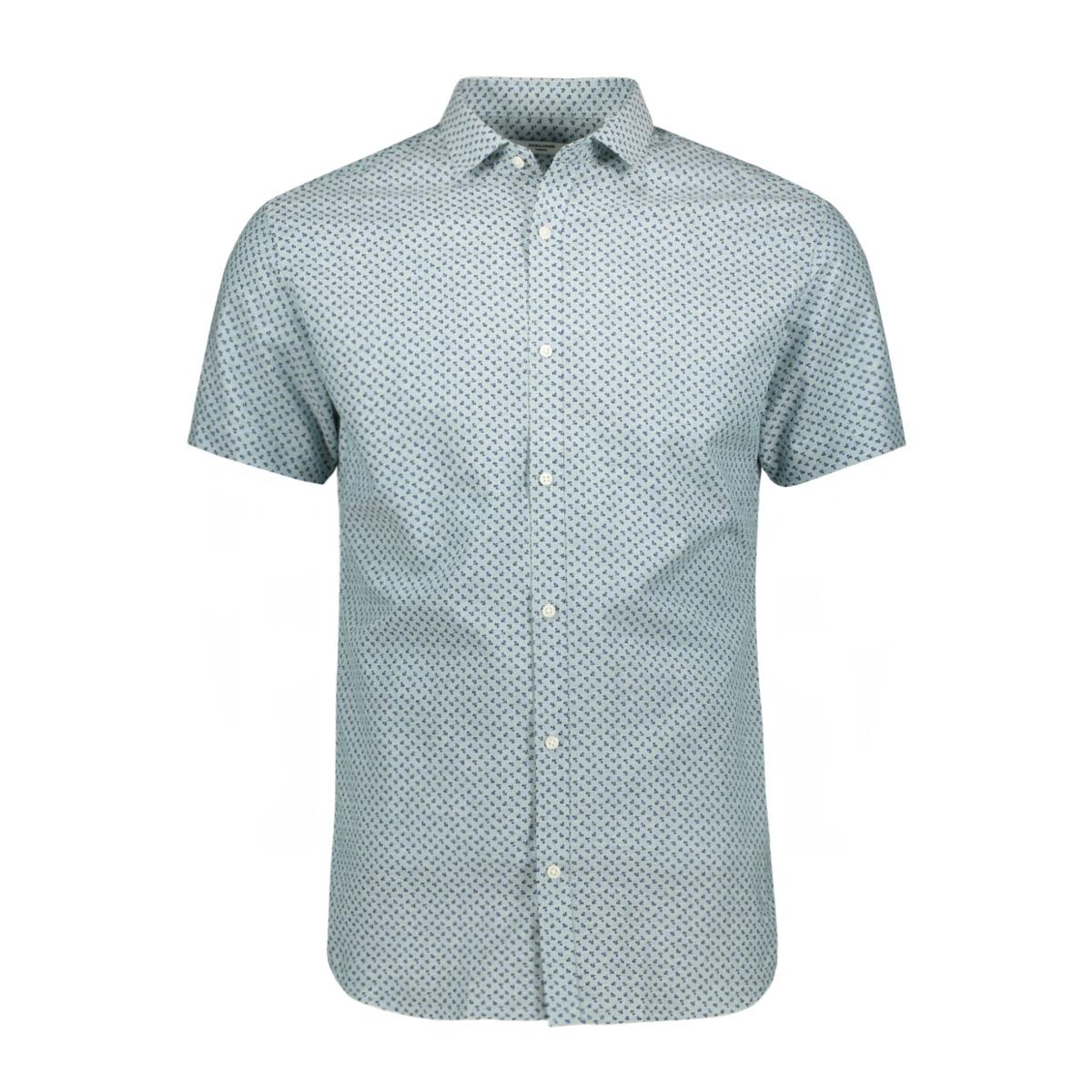jprsummer blackburn shirt s/s 12152774 jack & jones overhemd arctic/slim fit