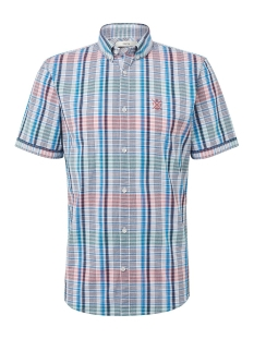 Tom Tailor Overhemd GERUIT OVERHEMD MET KORTE MOUWEN 1010871XX10 17668