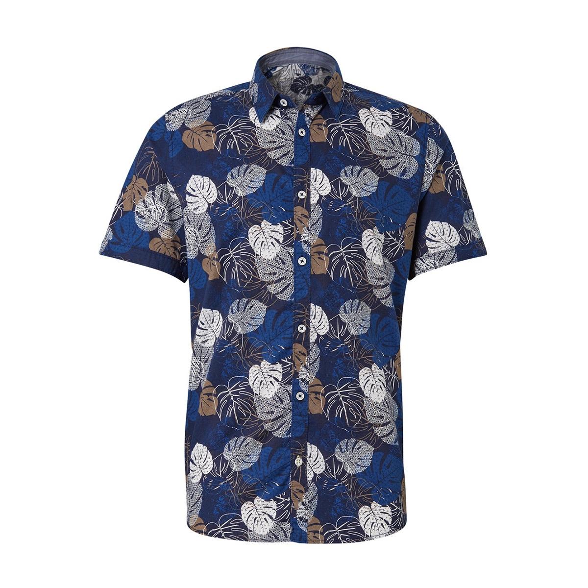 overhemd met patroon 1010954xx10 tom tailor overhemd 17722