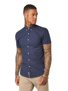 overhemd met all over print 1010896xx12 tom tailor overhemd 17630