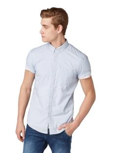overhemd met all over print 1010896xx12 tom tailor overhemd 17631