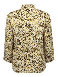 pcsussie 3/4 shirt d2d 17101335 pieces blouse bison aop leopard