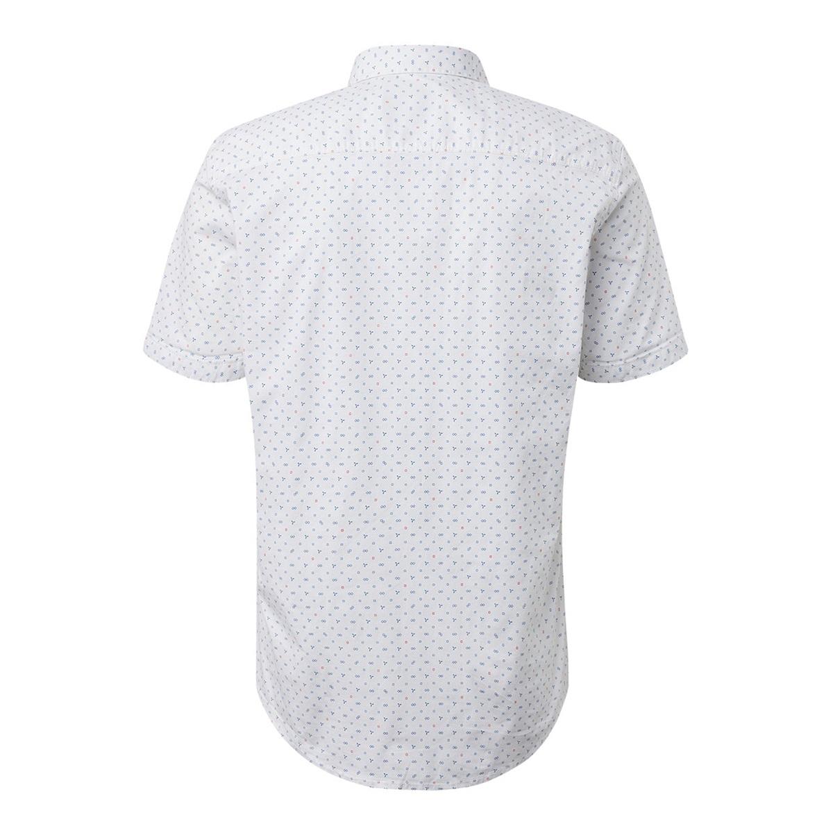overhemd met all over print 1012827xx10 tom tailor overhemd 19007