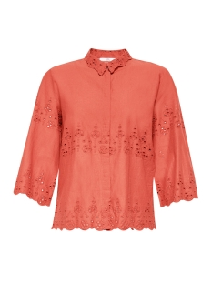 EDC Blouse BLOUSE MET BRODERIE ANGLAISE 079CC1F004 C805