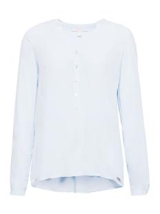 Esprit Blouse HENLEY BLOUSE MET OPROLBARE MOUWEN 998EE1F802 E440 LIGHT BLUE