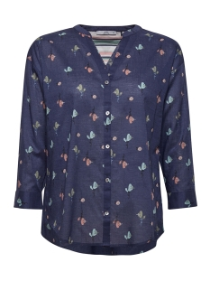 blouse met oprolbare mouwen 079cc1f001 edc blouse c400 navy