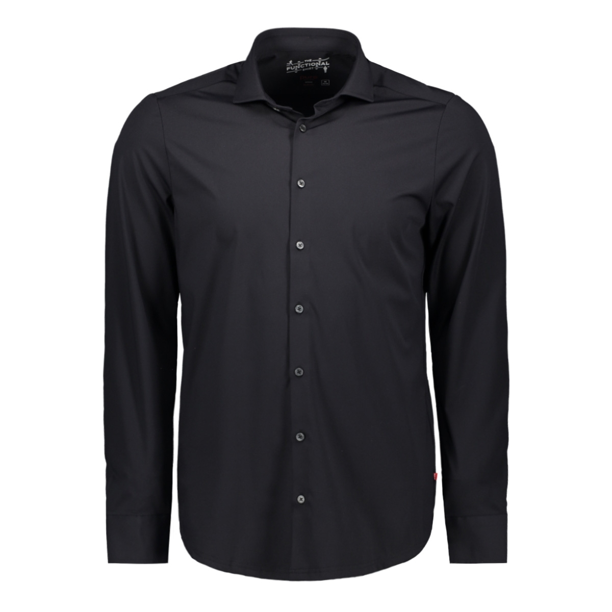 functional shirt slim 3387 21109 pure h. tico overhemd black