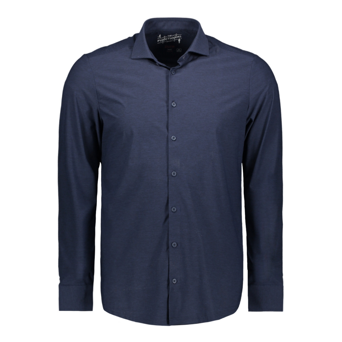 functional shirt slim 3386 21109 pure h. tico overhemd navy
