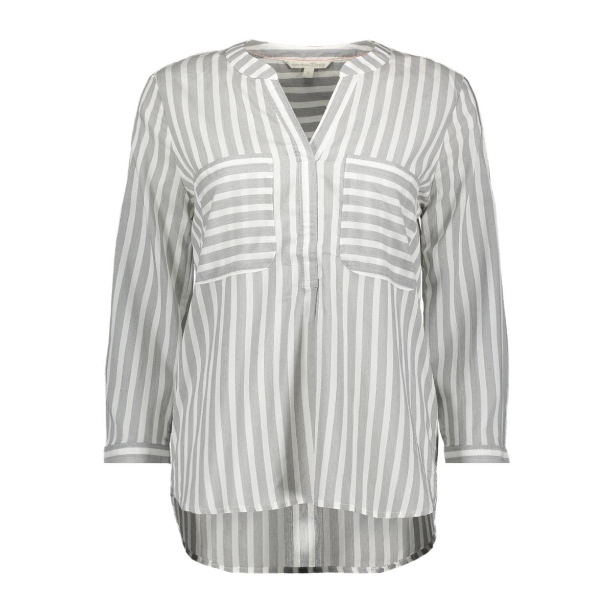 blouse met streeppatroon 1012606xx71 tom tailor blouse 13293