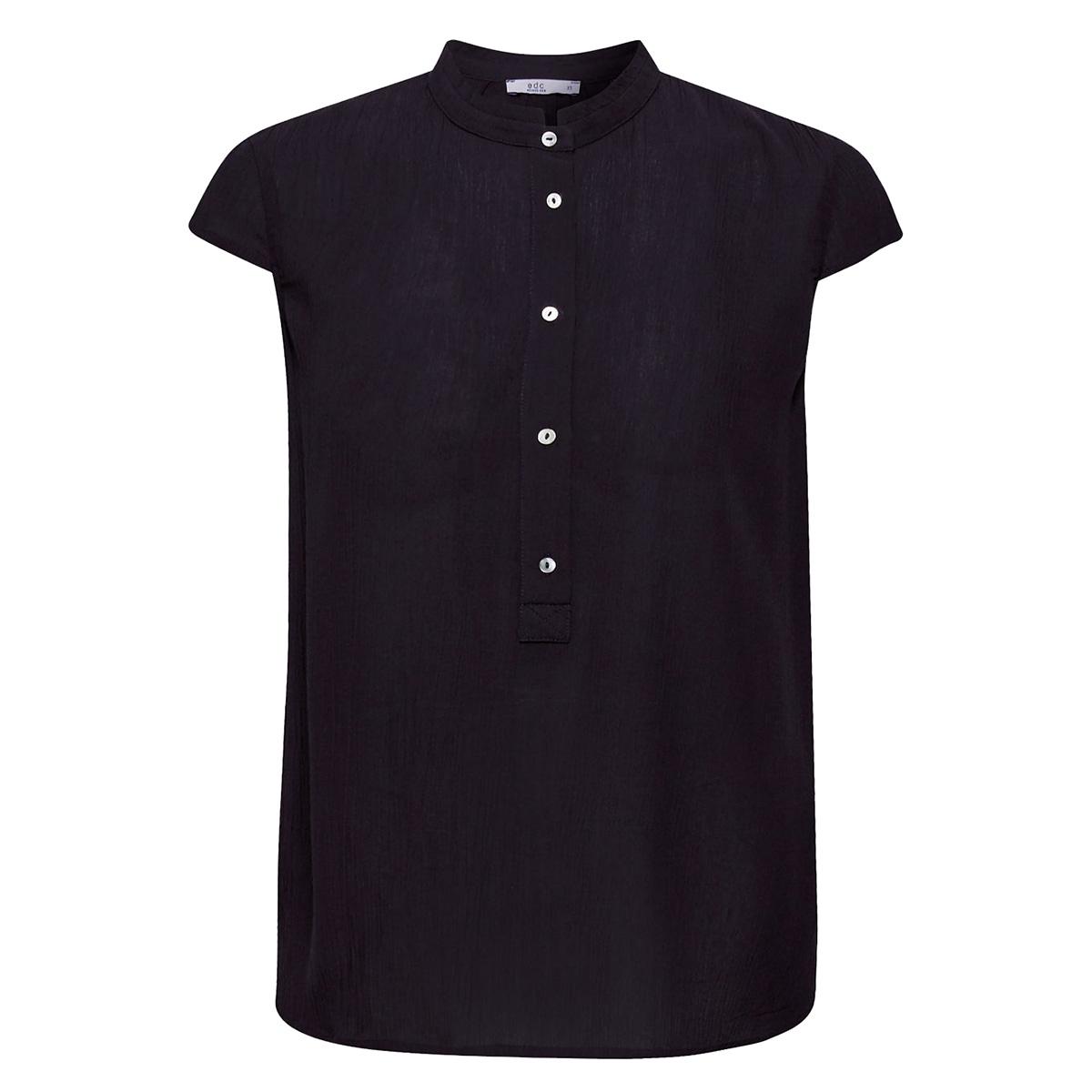 crinkle blouse met opstaande kraag 079cc1f008 edc blouse c001
