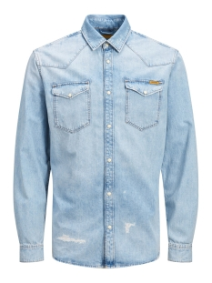 Jack & Jones Overhemd JJIJAMES JJSHIRT CJ 092 NOOS 12158524 Blue Denim