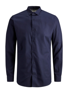 Jack & Jones Overhemd JPRVICTOR SHIRT L/S NOOS 12158304 Navy Blazer/SLIM FIT