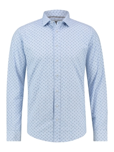 Haze & Finn Overhemd SHIRT AOP STRETCH MC12 0100 23 GLASSES