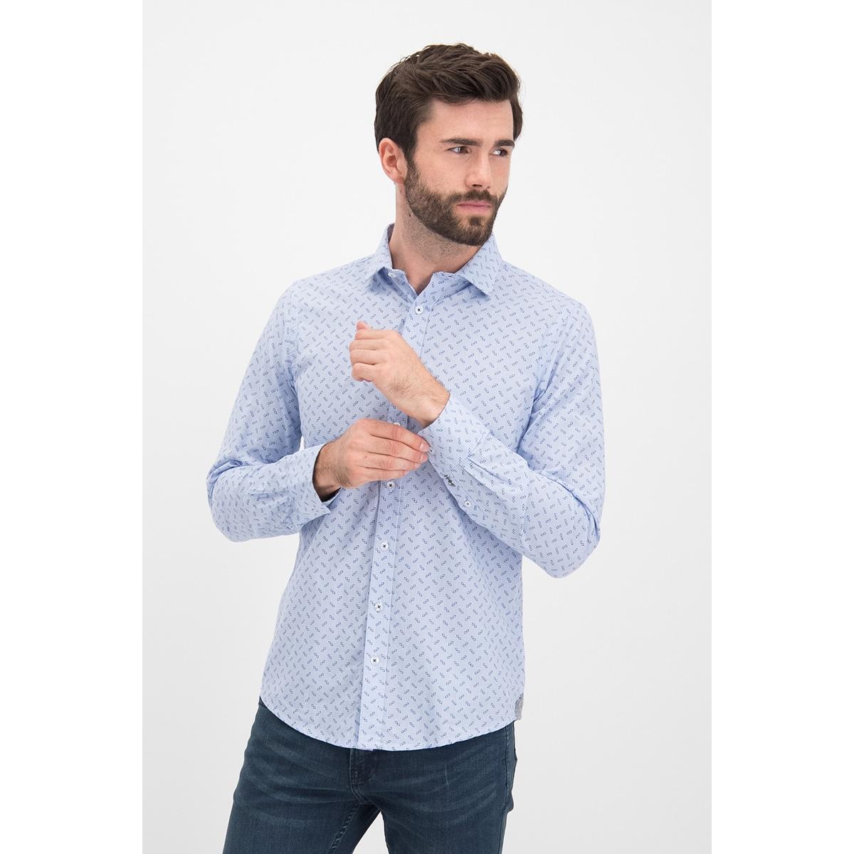 shirt aop stretch mc12 0100 23 haze & finn overhemd glasses