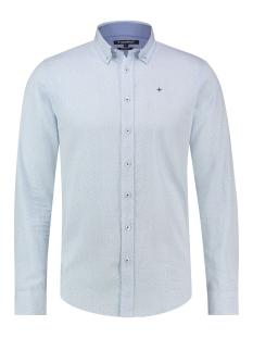 mc12 0101 01 shirt aop stretch haze & finn overhemd blue sparkle