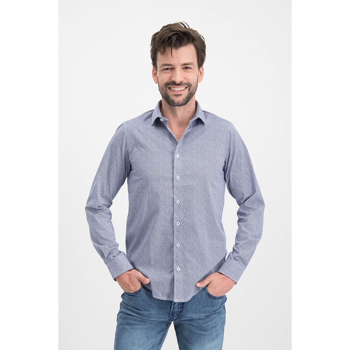 shirt aop stretch mc12 0100 36 haze & finn overhemd ace of spades