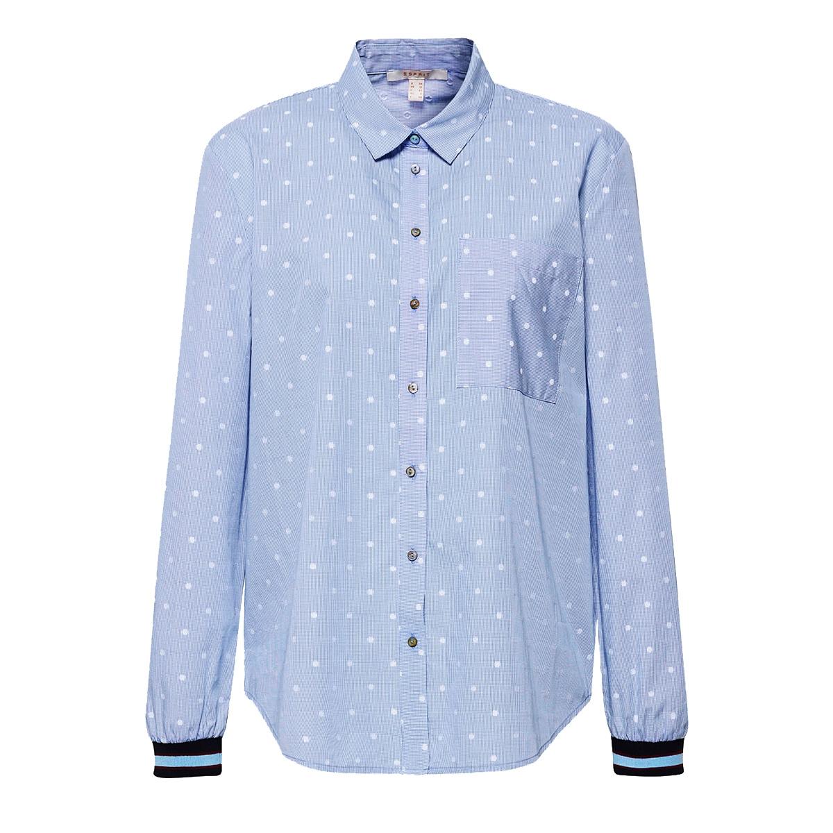 overhemdblouse met ribboord 089ee1f009 esprit blouse e440